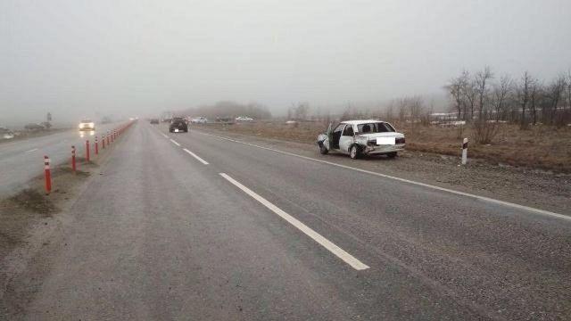 Жители КБР пострадали в ДТП в Ставропольском крае