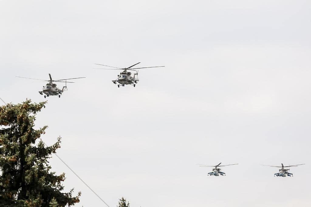 В Пятигорске впервые в истории города к Параду Победы присоединятся боевые вертолёты