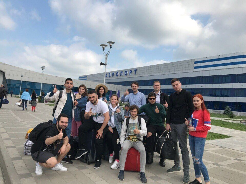 Ставропольская команда «Михаил Дудиков» готовится к выступлению в полуфинале премьер-лиги КВН