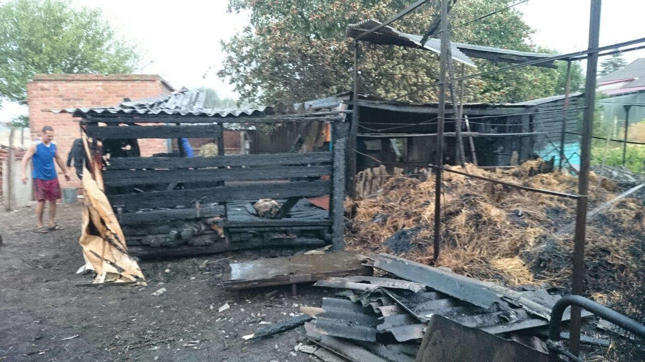 На Ставрополье спасатели потушили крупный пожар на большой территории