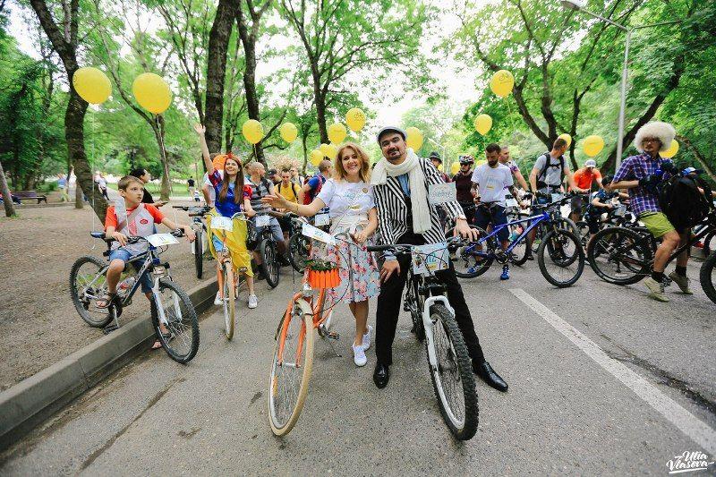 Рекордное число участников собрал пятигорский «Велопарад-2018»