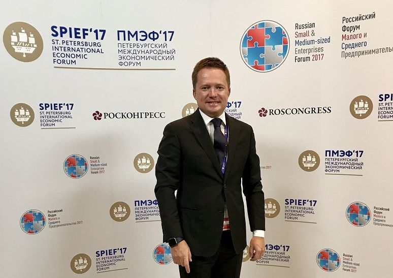 Делегация Ставрополья приступила кработе наПетербургском экономическом пленуме