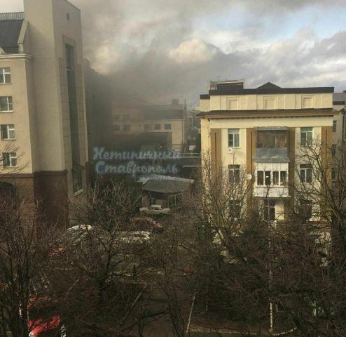 В центре Ставрополя загорелась трансформаторная подстанция