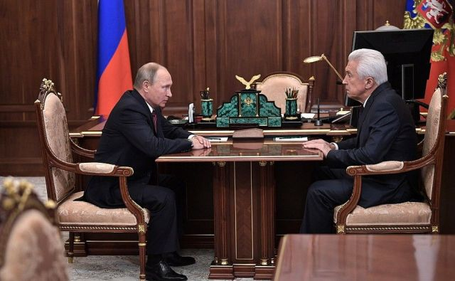 Врио главы Дагестана назначен вице-спикер Госдумы Владимир Васильев