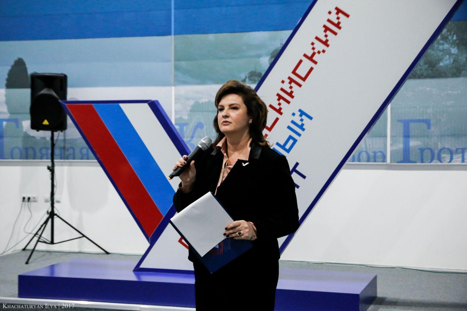 Сопредседатель регионального штаба ОНФ Александра Будяк вошла в список доверенных лиц Владимира Путина
