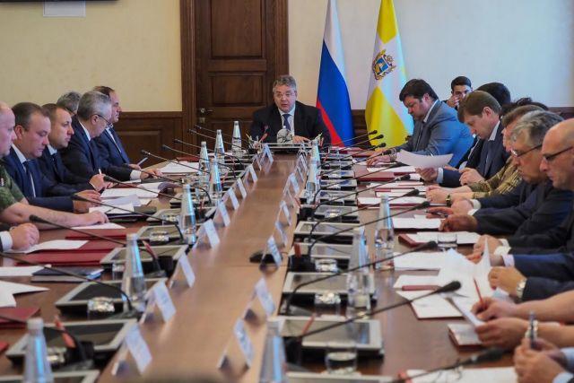 Губернатор Ставрополья провёл внеочередное заседание антитеррористической комиссии