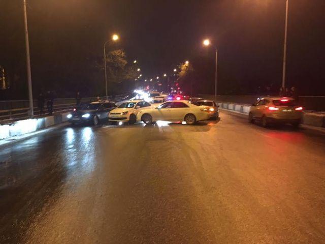 В Ставрополе в ДТП столкнулись пять автомобилей