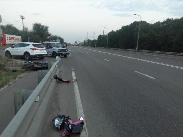На Ставрополье в ДТП скончался молодой мотоциклист