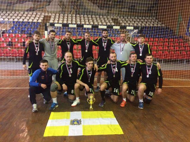 Ставропольские гандболисты привезли серебро из Краснодара