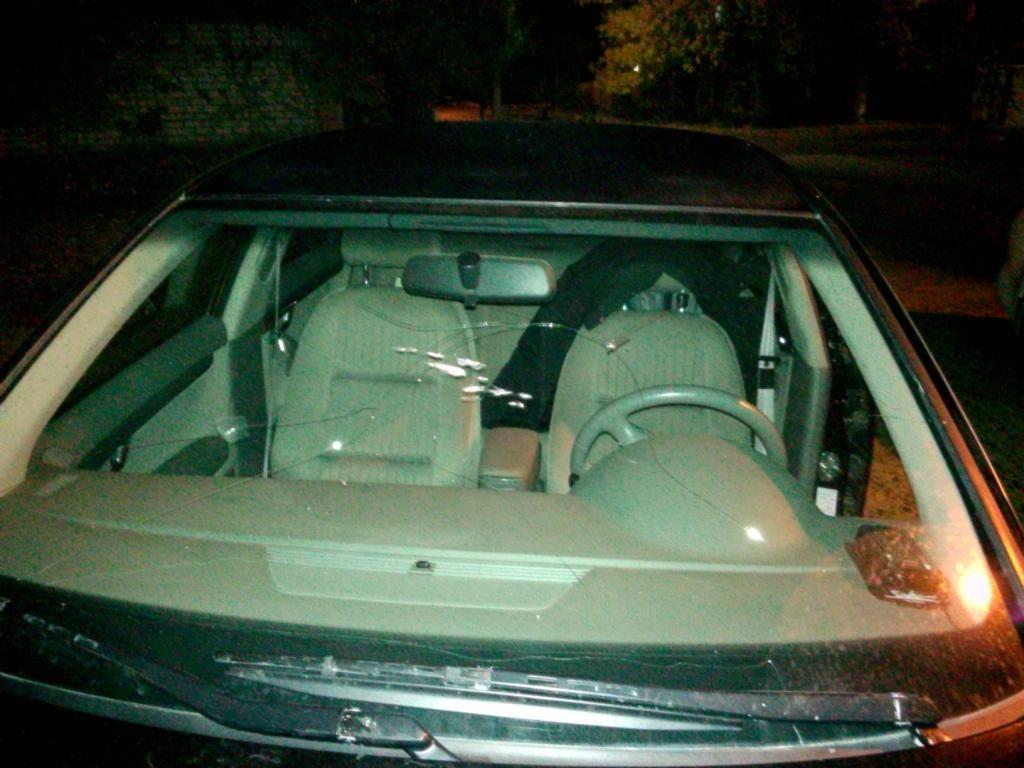 Ревнивый мужчина разбил автомобиль ухажёра бывшей супруги вНовоселицком районе