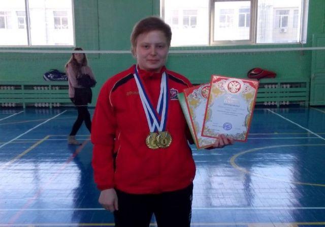 Ставропольская спортсменка привезла из Краснодара две золотые медали