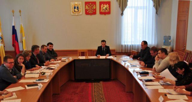 В Ставрополе прошло заседание комитета по законности и местному самоуправлению