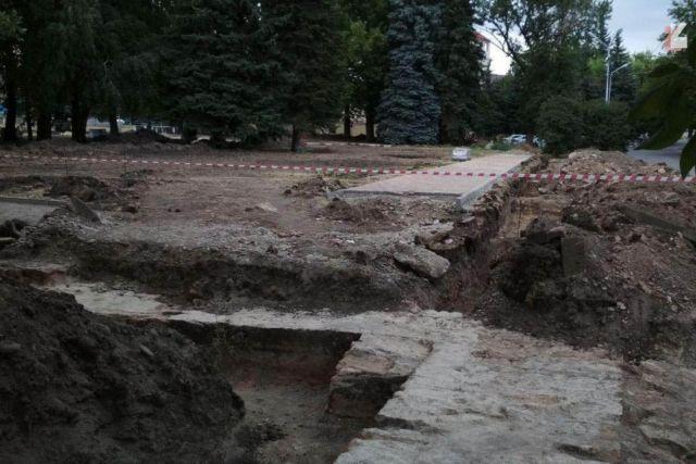 Археологи нашли фундамент Ставропольской крепости на Крепостной горе