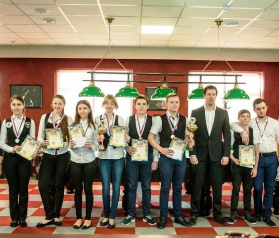 В Ставрополе прошло открытое первенство по бильярдному спорту
