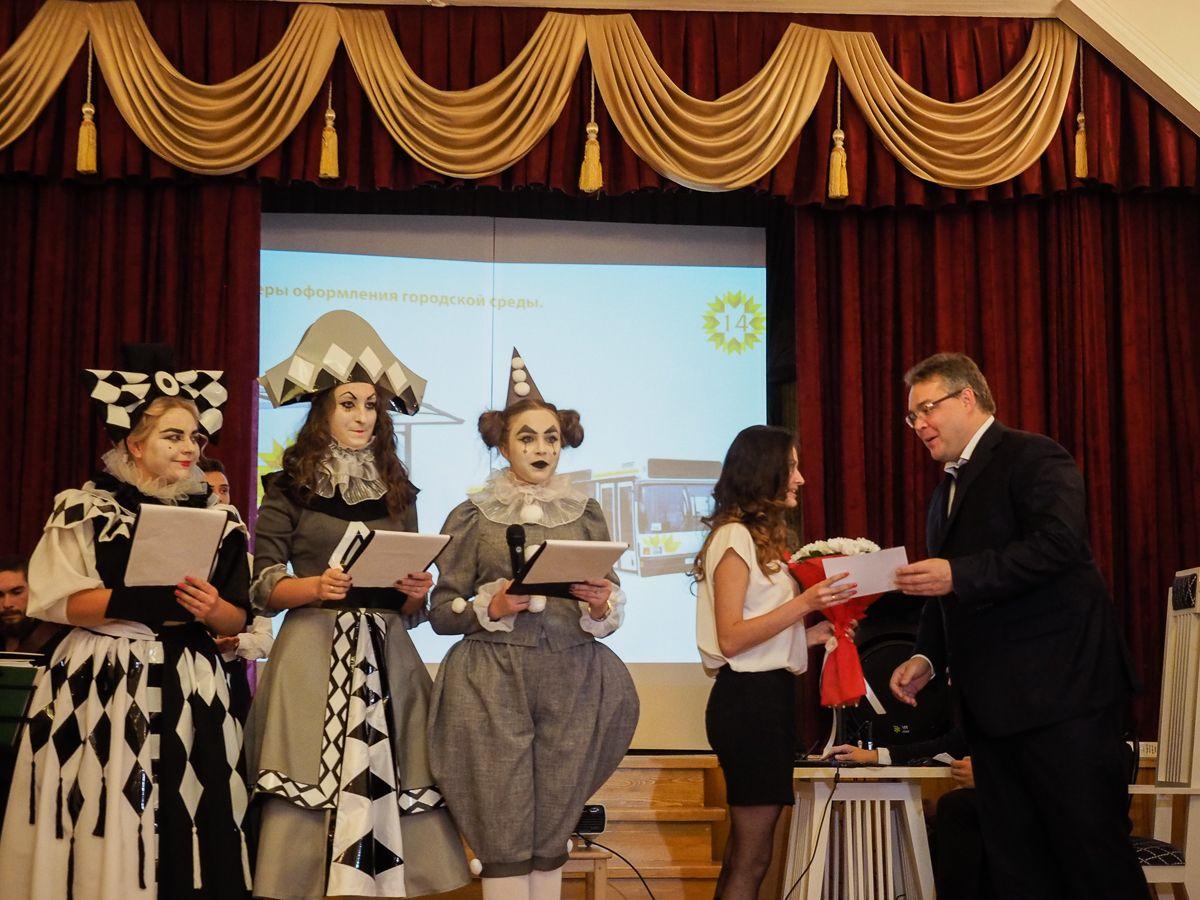 Губернатор Ставрополья пообщался сучастниками акции «Ночь искусств»