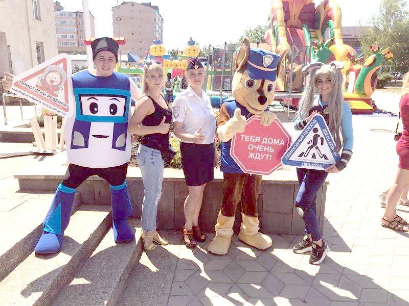 На Ставрополье полицейские организовали анимационное шоу по безопасности дорожного движения