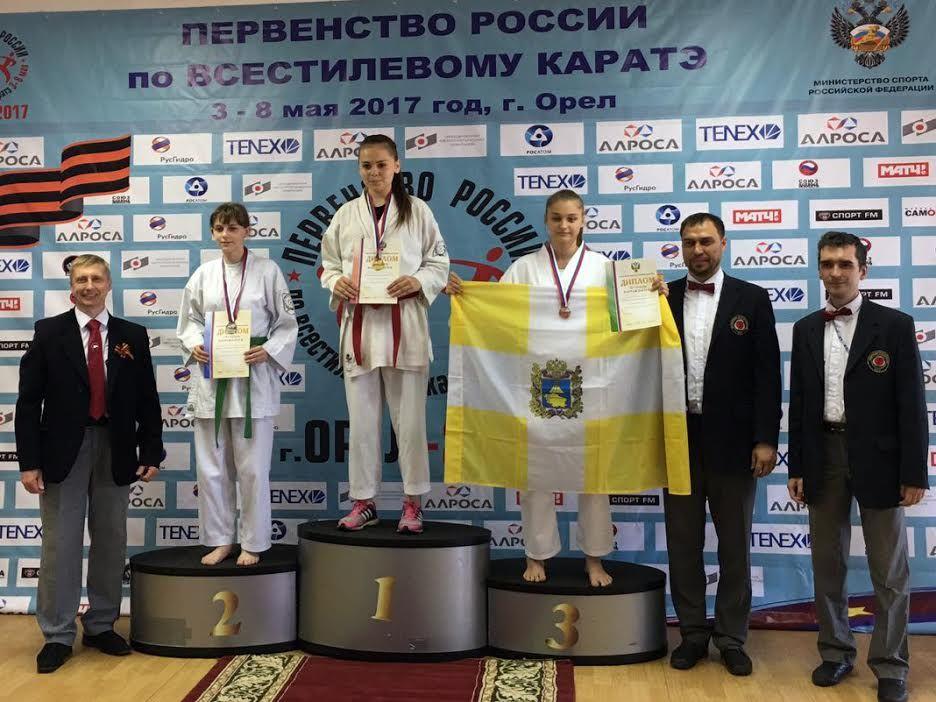 Ставропольские спортсмены стали лучшими в Российской Федерации порукопашному бою