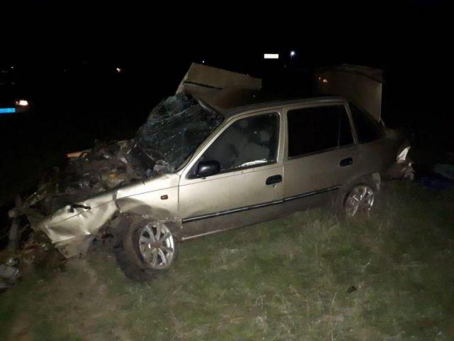 Водитель без прав разбился насмерть в Ставропольском крае
