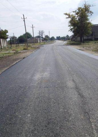 В селе Чернолесском отремонтировали дорогу, построенную в 1979 году