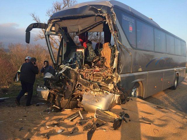 Стала известна информация о пострадавших в ДТП с рейсовым автобусом Кисловодск - Сочи