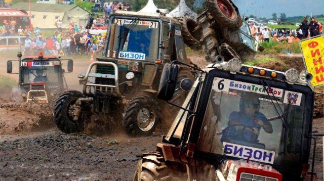 Ставрополец стал победителем всероссийских гонок на тракторах