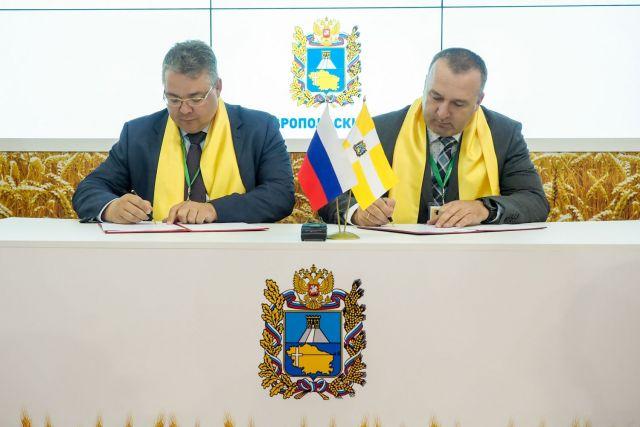 На Ставрополье подписано соглашение о строительстве молочно-товарного комплекса