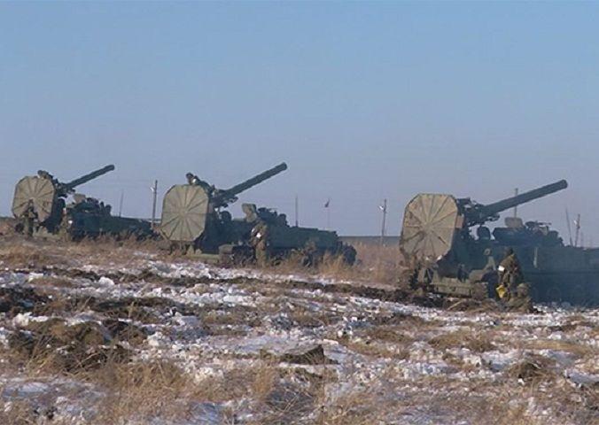 Интенсивность боевой подготовки артиллеристов на Ставрополье и Кубани в 2017 году возросла на 15%