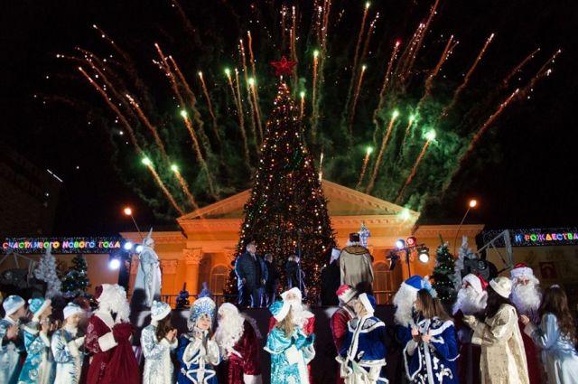 Главную ёлку Ставрополя зажгут 15 декабря
