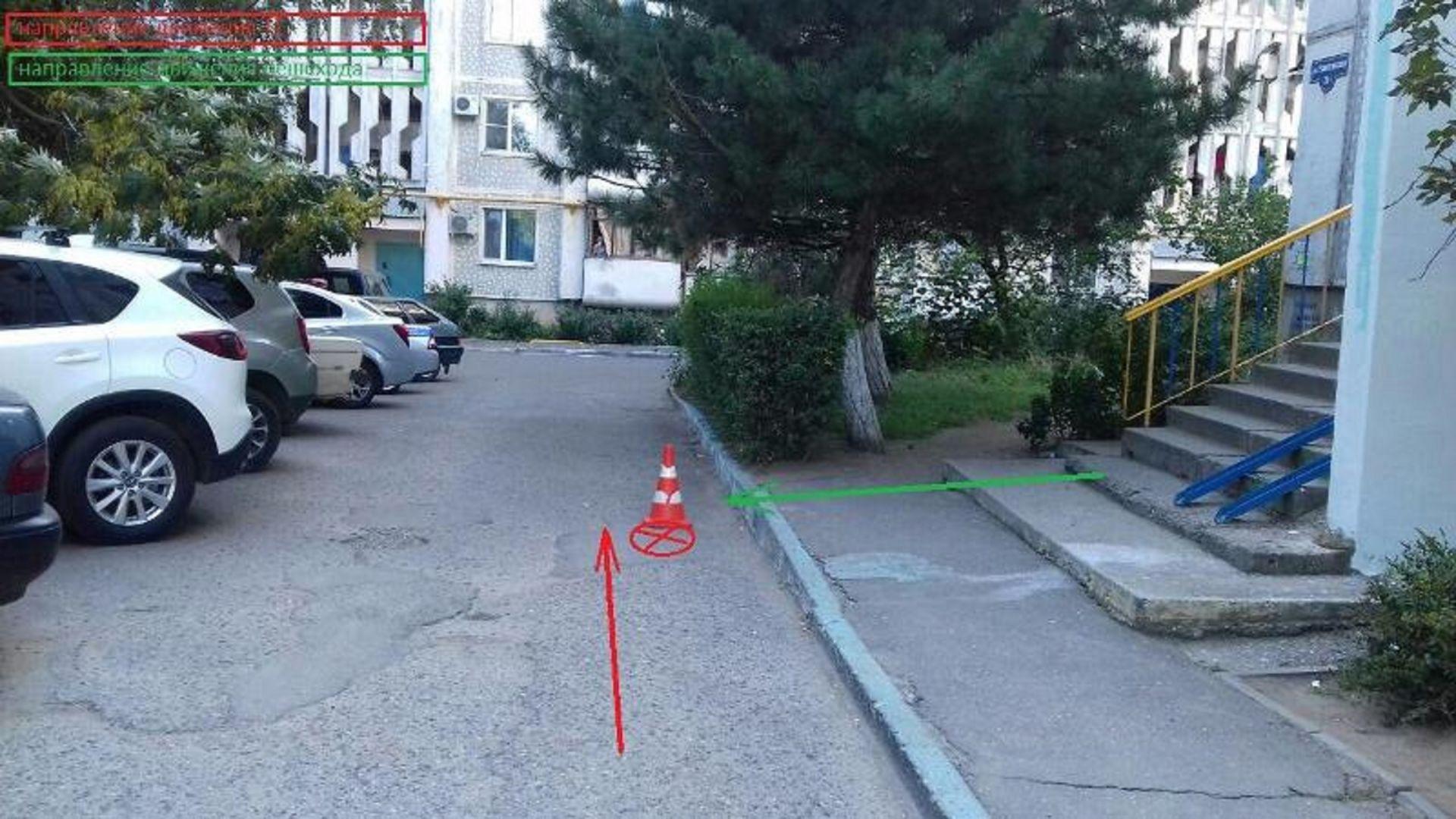 В Пятигорске водитель сбил женщину и скрылся с места происшествия