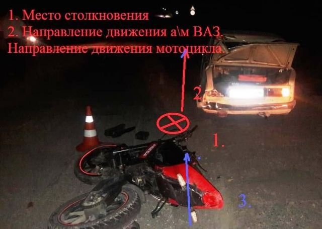 В ДТП на Ставрополье погиб подросток-мотоциклист