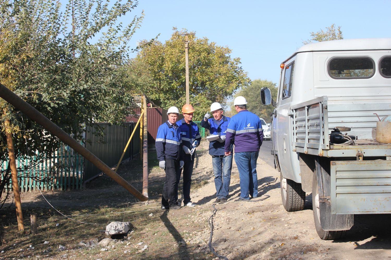 В Андроповском районе восстановили газопровод, поврежденный в ДТП