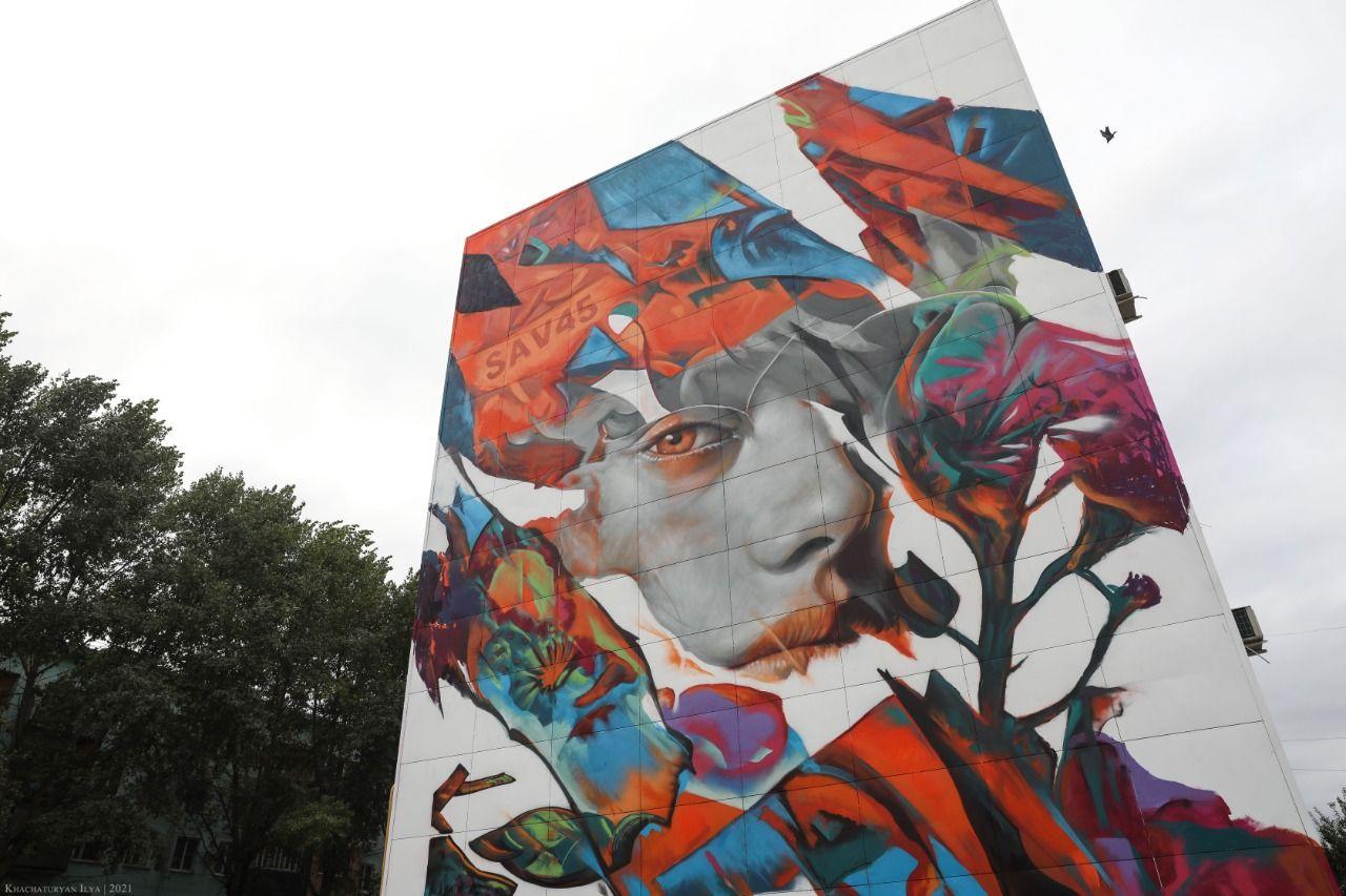 В Ставропольском крае в галерее уличного искусства под открытым небом появились уникальные экспонаты