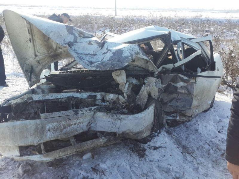 НаСтаврополье влобовом столкновении умер шофёр
