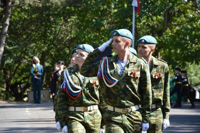 На Ставрополье стартовали соревнования юнармейцев
