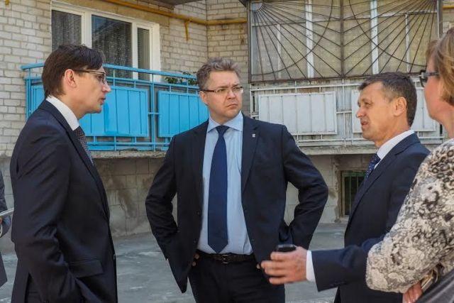 Губернатор совершил рабочую поездку в Георгиевский район