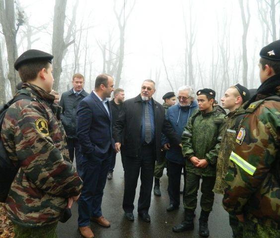 В урочище «Таманский лес» Ставрополя появилась ещё одна экологическая тропа