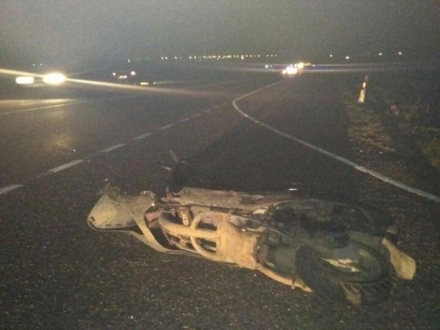 В Ставропольском крае в ДТП погиб водитель мопеда