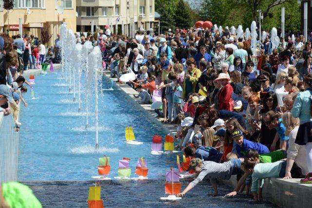 В Ставрополе торжественно открылся сезон фонтанов