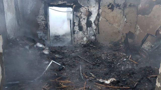 В Ставропольском крае загорелся частный дом, погиб мужчина