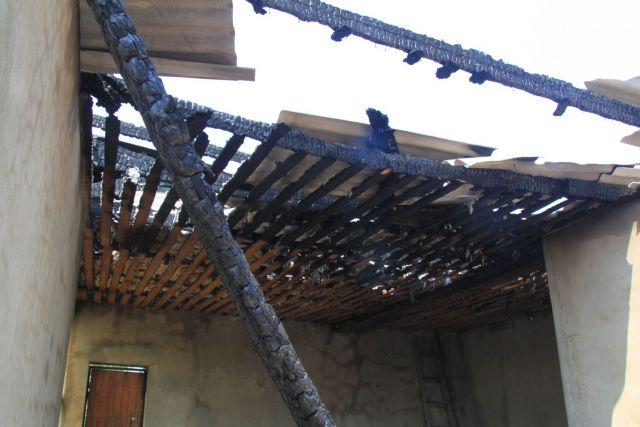 На Ставрополье сгорела придорожная шашлычная