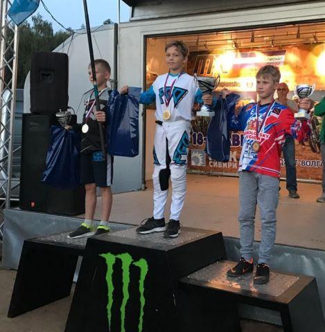 11-летний мотокроссер из Ставропольского края стал абсолютным чемпионом России