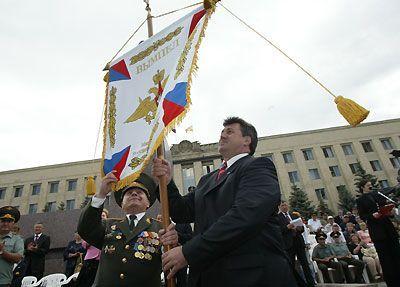 Ставропольский край получил вымпел за лучшую подготовку граждан к армии