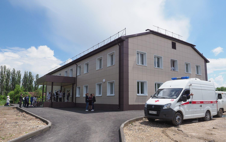 В селе Краснокумском Георгиевского округа появилась новая врачебная амбулатория