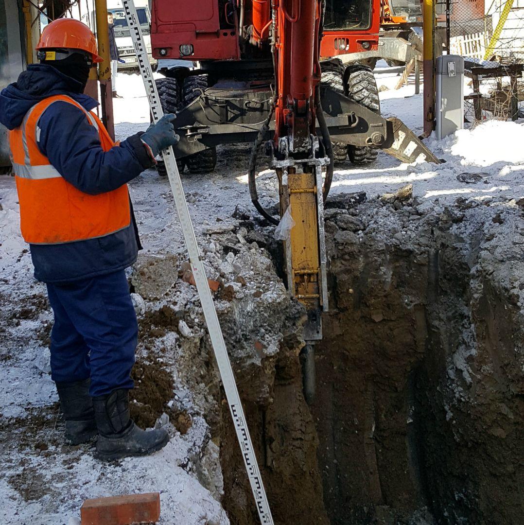 В Ставрополе специалисты водоканала в режиме нон-стоп ремонтируют повреждённый коллектор