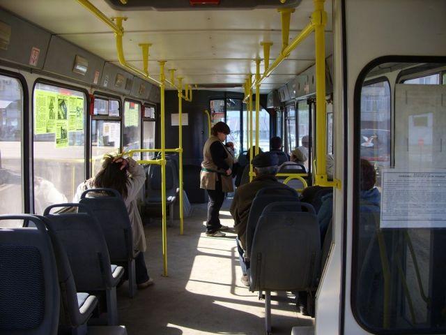 В Ставрополе два пассажира троллейбуса получили травмы при резком торможении