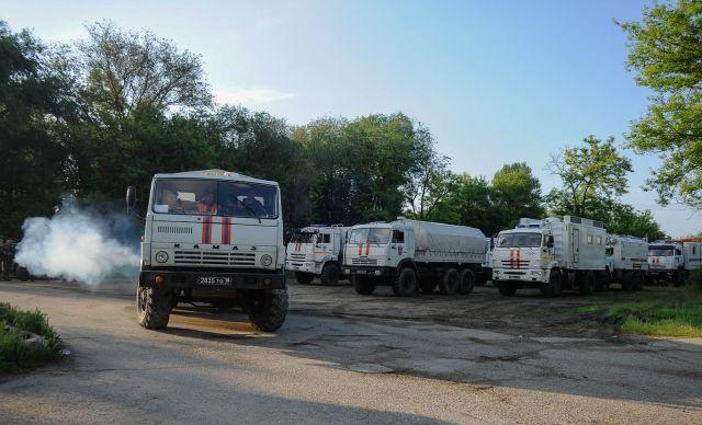 Эвакуация шести населённых пунктов на востоке Ставропольского края отложена