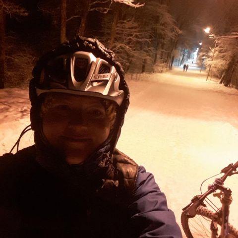 Ставропольчанка готовится покорить на велосипеде лёд Байкала