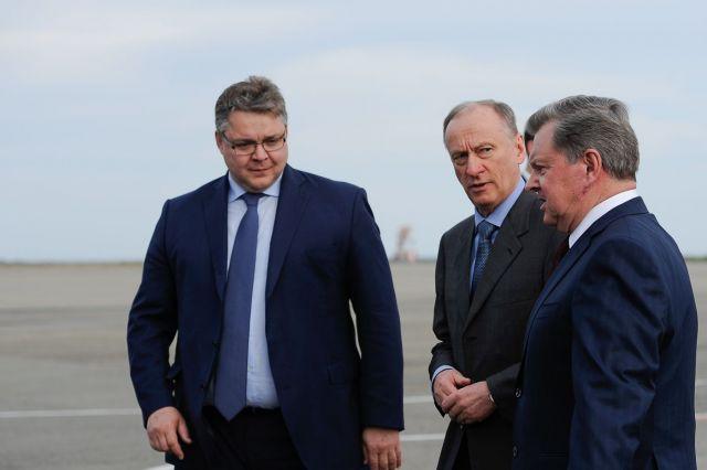 На Ставрополье прибыл секретарь Совбеза России Николай Патрушев