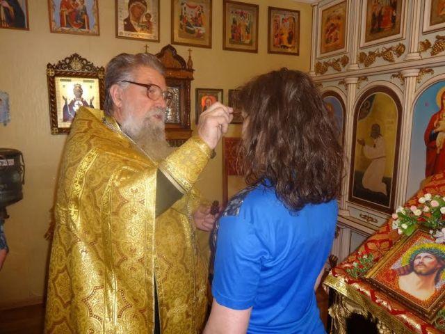 На Ставрополье в СИЗО состоялось крещение осуждённой