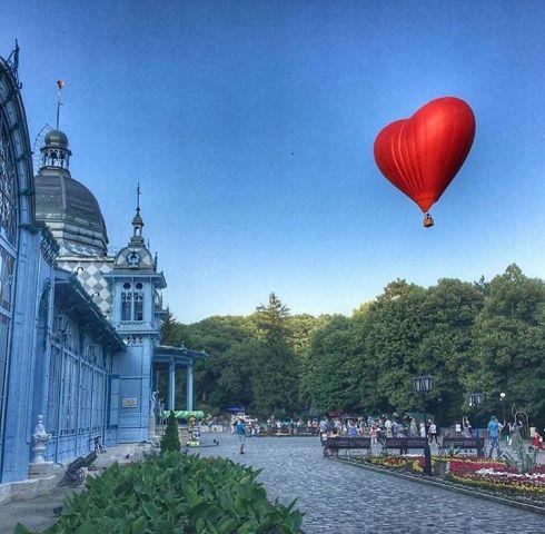 Влюбленная пара из Ставрополя поженится в небе над Железноводском